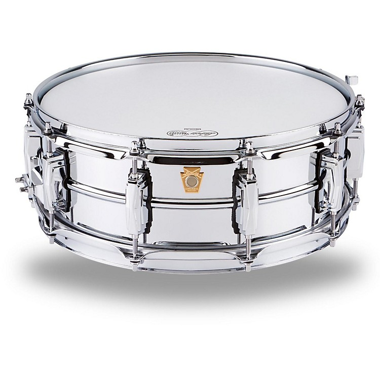 Ludwig Supraphonic Snare Drum Chrome 6.5X14 Inches