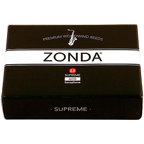 Zonda Supreme Alto Saxophone Reed Strength 2.5 Box of 5