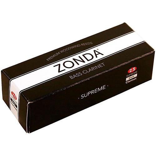 Zonda Supreme Bass Clarinet Reed Strength 2.5 Box of 5