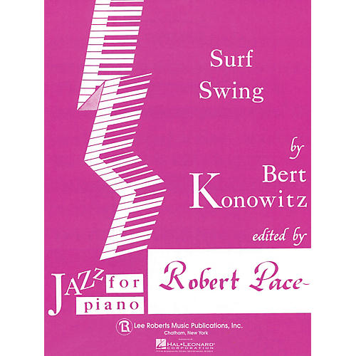 Lee Roberts Surf Swing Pace Jazz Piano Education Series Composed by Bert Konowitz-thumbnail