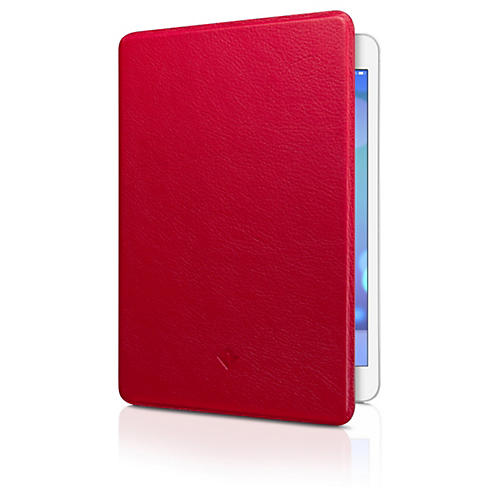 Twelve South SurfacePad Carrying Case (Flip) for iPad mini - Red - Nappa Leather