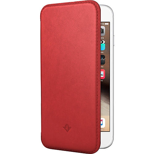 Twelve South SurfacePad Red Ultra Slim Leather Cover For iPhone 6 Plus-thumbnail