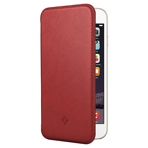 Twelve South SurfacePad Red Ultra Slim Leather Cover For iPhone 6-thumbnail
