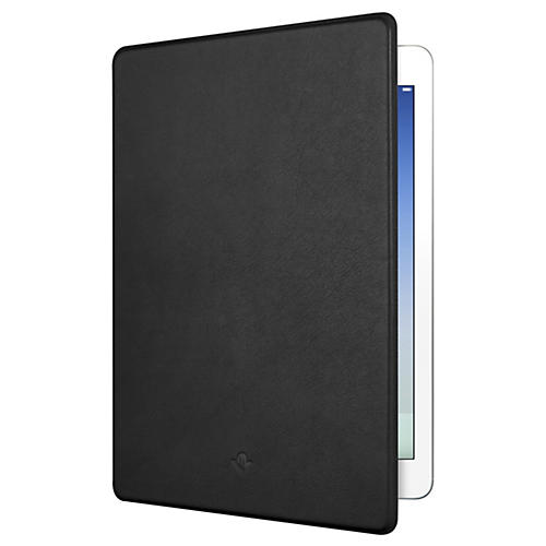 Twelve South SurfacePad Ultra Slim Luxury Leather Cover Black For iPad Air
