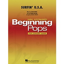 Hal Leonard Surfin' U.S.A. Concert Band Level 1 by Beach Boys Arranged by Michael Sweeney