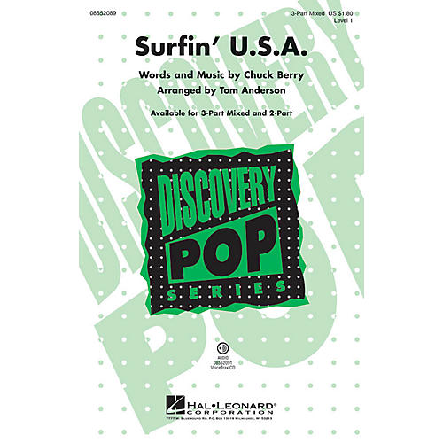 Hal Leonard Surfin' U.S.A. (Discovery Level 1) VoiceTrax CD by Beach Boys Arranged by Tom Anderson-thumbnail