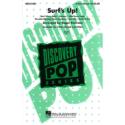 Hal Leonard Surf's Up! (Medley) 3-Part Mixed arranged by Roger Emerson-thumbnail