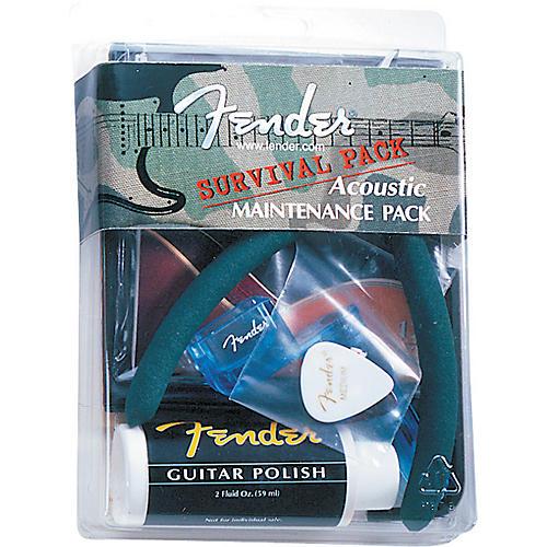 Fender Survival Pack Acoustic Guitar Maintenance Kit-thumbnail