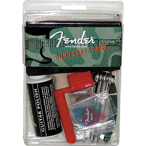 Fender Survival Pack for Electric Guitar-thumbnail