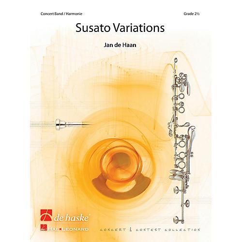 De Haske Music Susato Variations Concert Band Level 3 Composed by Jan de Haan-thumbnail