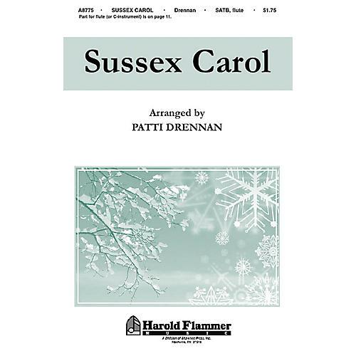 Hal Leonard Sussex Carol SATB