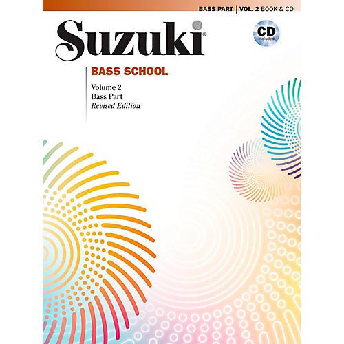 Suzuki Suzuki Bass School Book & CD Volume 2 (Revised)-thumbnail