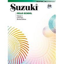 Alfred Suzuki Cello School Book & CD Volume 1 (Revised)