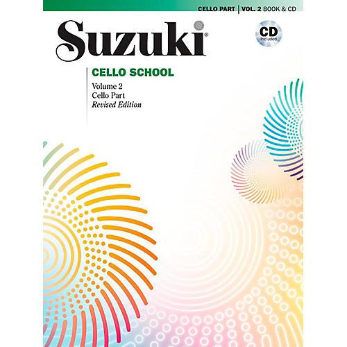 Alfred Suzuki Cello School Book & CD Volume 2 (Revised)