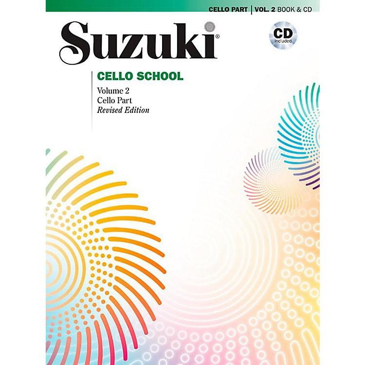 AlfredSuzuki Cello School Book & CD Volume 2 (Revised)