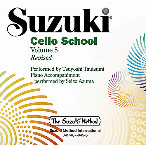 Alfred Suzuki Cello School CD, Volume 5