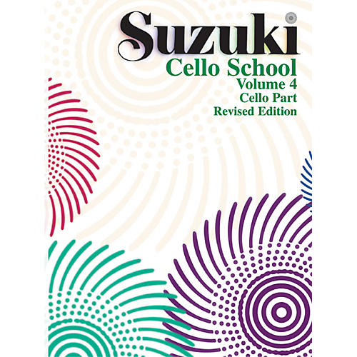 Alfred Suzuki Cello School Cello Part Vol 4 (Book)