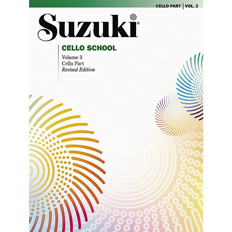 AlfredSuzuki Cello School Cello Part, Volume 3 Book