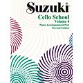 Alfred Suzuki Cello School Piano Accompaniment Vol 4 (Book)  Thumbnail