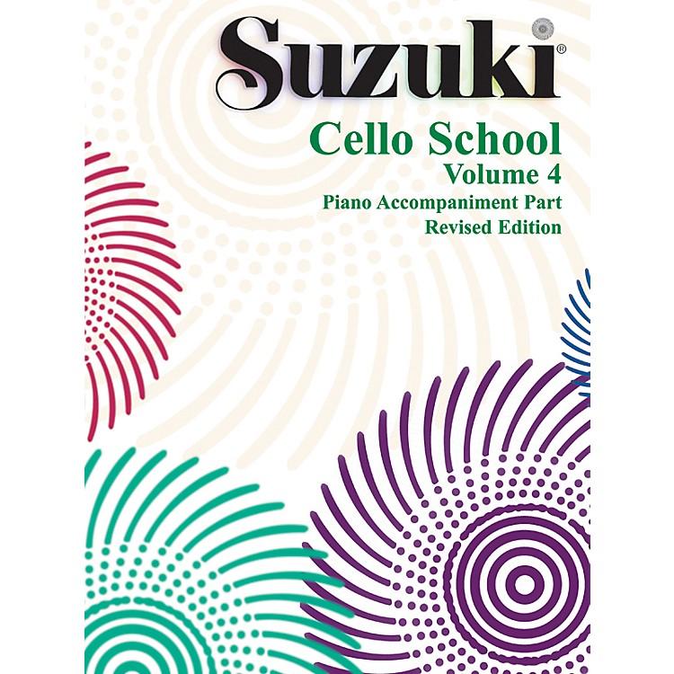 AlfredSuzuki Cello School Piano Accompaniment Vol 4 (Book)