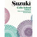 Alfred Suzuki Cello School Piano Accompaniment Volume 6 (Book)-thumbnail