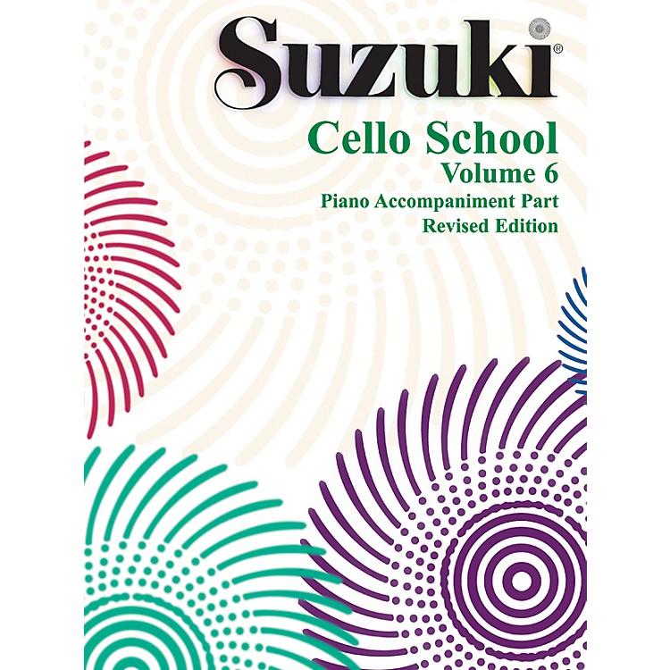 AlfredSuzuki Cello School Piano Accompaniment Volume 6 (Book)