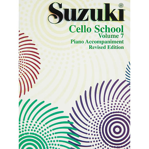 Alfred Suzuki Cello School Piano Accompaniments Volume 7 (Rev.)