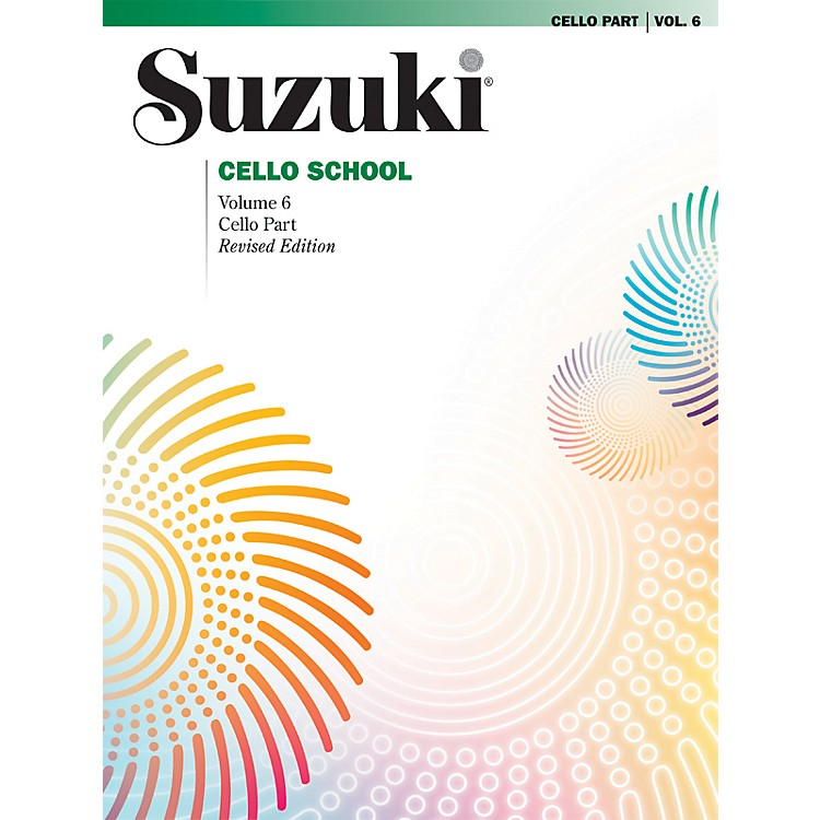 Alfred Suzuki Cello School Volume 6