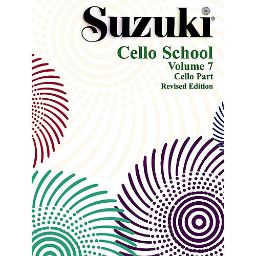 Alfred Suzuki Cello School Volume 7 (Book)