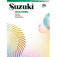 Alfred Suzuki Cello School Volume 8 Book & CD (Revised)