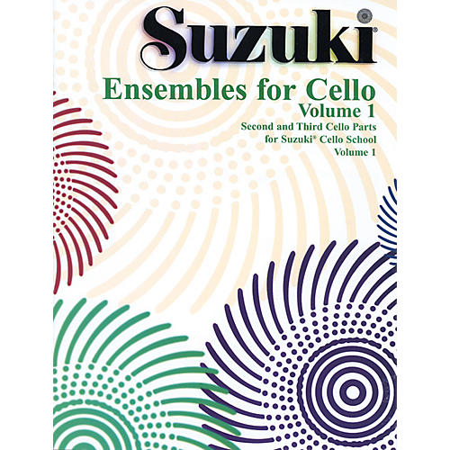 Alfred Suzuki Ensembles for Cello Volume 1 (Book)
