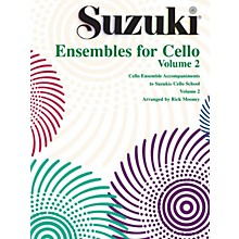 Alfred Suzuki Ensembles for Cello, Volume 2