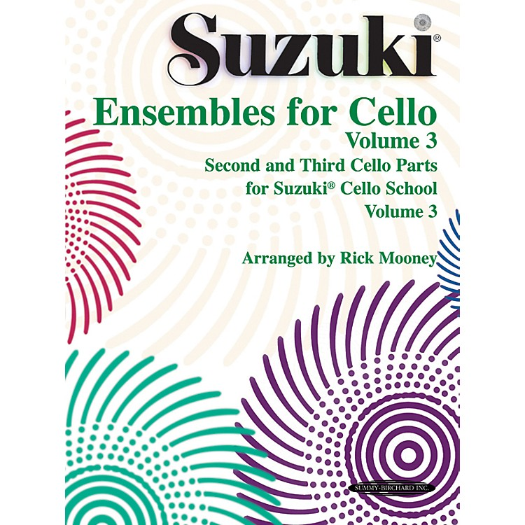 AlfredSuzuki Ensembles for Cello Volume 3 (Book)