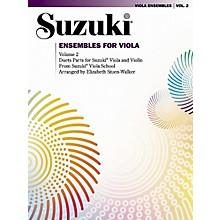 Alfred Suzuki Ensembles for Viola Volume 2