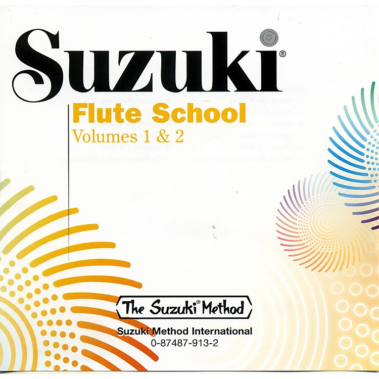 Alfred Suzuki Flute School CD Volume 1 & 2 Volume 1 & 2 (Revised)