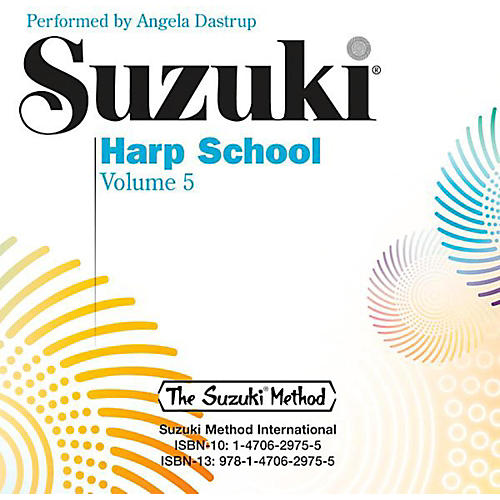 Suzuki Suzuki Harp School, Volume 5 CD-thumbnail