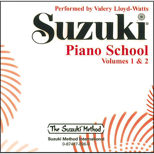Suzuki Suzuki Piano School CD Volume 1 & 2