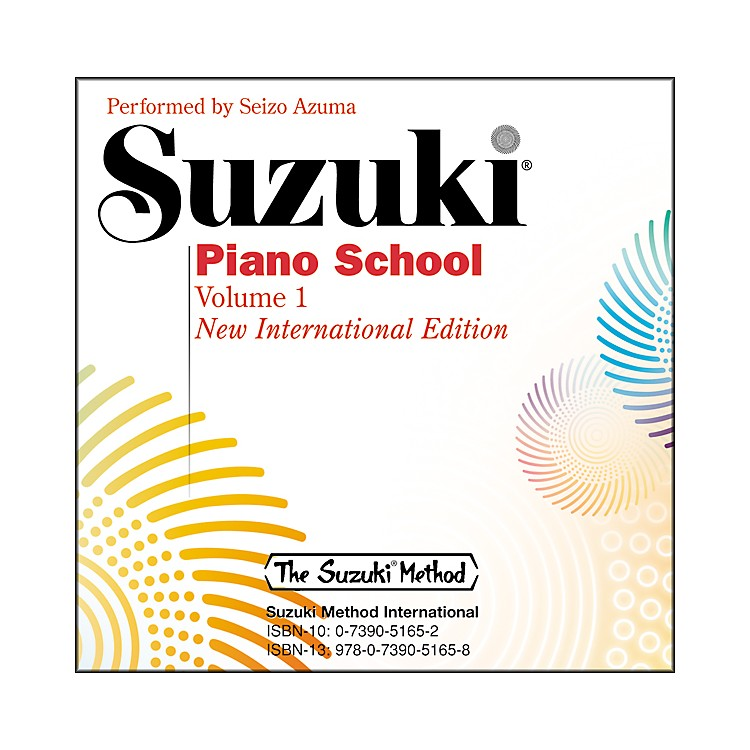 SuzukiSuzuki Piano School New International Edition CD Volume 1