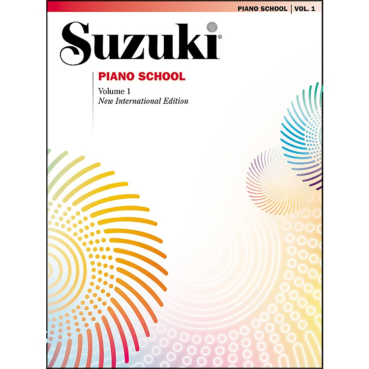 SuzukiSuzuki Piano School New International Edition Piano Book Volume 1