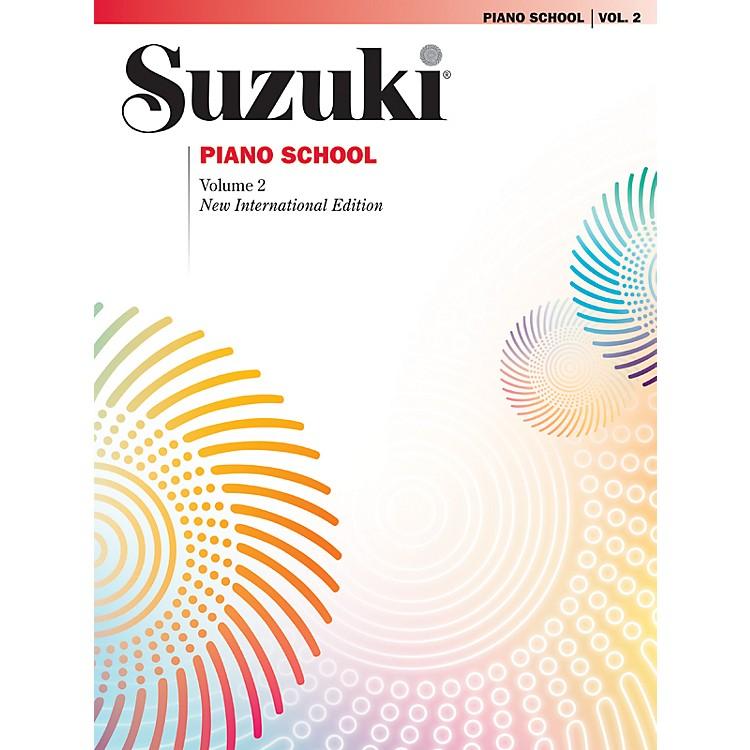 AlfredSuzuki Piano School New International Edition Piano Book Volume 2