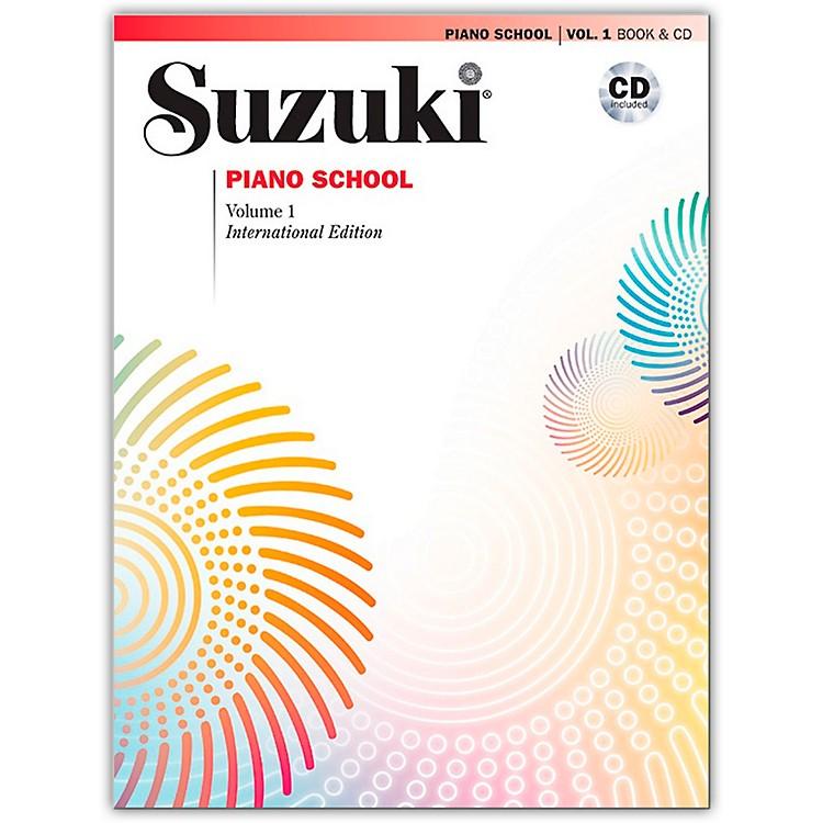 SuzukiSuzuki Piano School New International Edition Piano Book and CD Volume 1