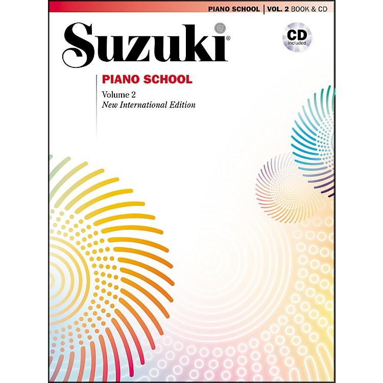SuzukiSuzuki Piano School New International Edition Piano Book and CD Volume 2