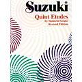 Alfred Suzuki Quint Etudes Revised  Thumbnail