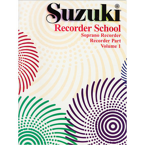 Alfred Suzuki Recorder School (Soprano Recorder) Recorder Part Volume 1