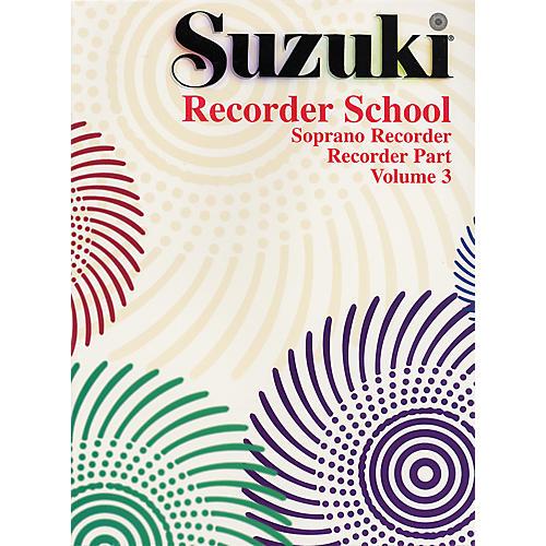 Alfred Suzuki Recorder School (Soprano Recorder) Recorder Part Volume 3-thumbnail