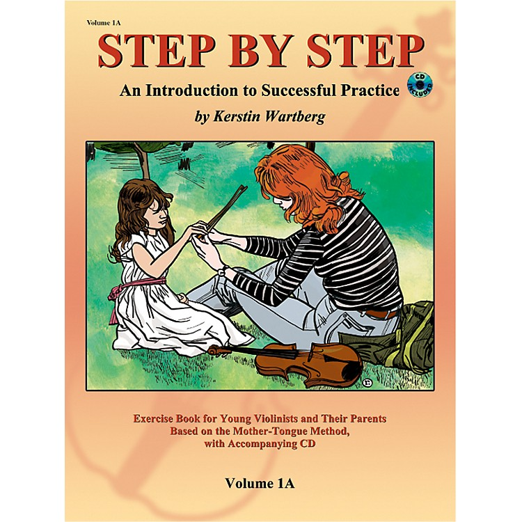 AlfredSuzuki Step by Step 1A: An Introduction to Successful Practice for Violin Book/CD