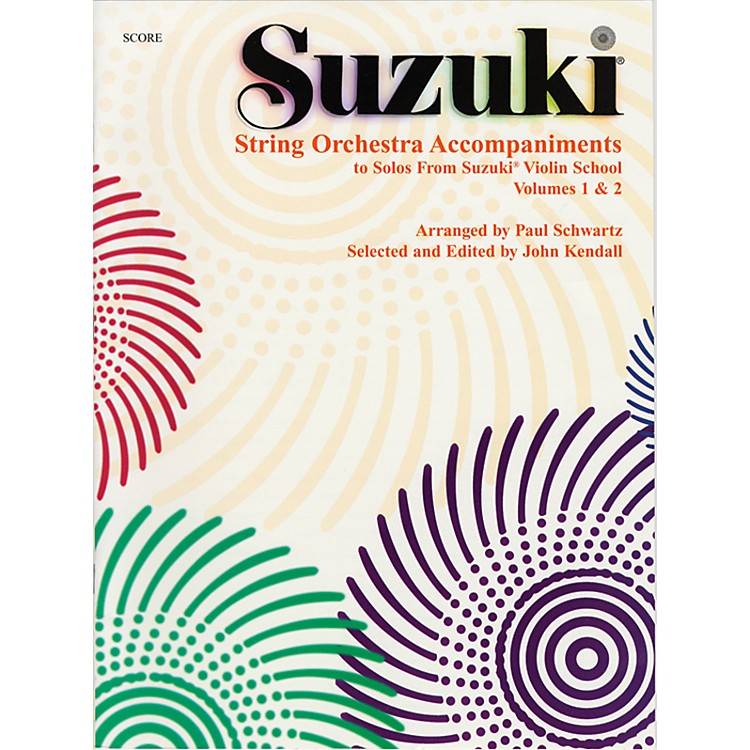 Alfred Suzuki String Orchestra Accompaniments to Solos from Volumes 1 & 2 Score Book