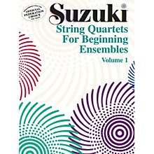 Alfred Suzuki String Quartets for Beginning Ensembles Volume 1 (Book)