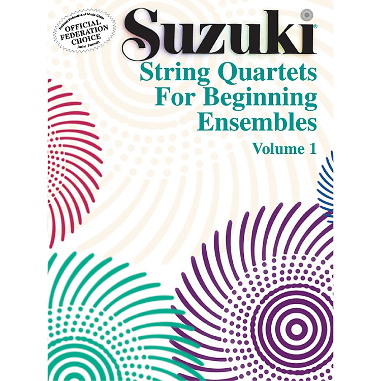 AlfredSuzuki String Quartets for Beginning Ensembles Volume 1 (Book)
