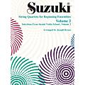 Alfred Suzuki String Quartets for Beginning Ensembles Volume 2 (Book)  Thumbnail